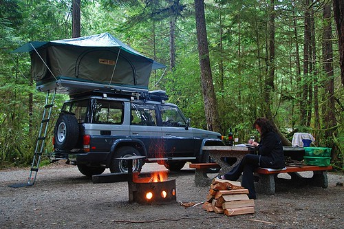 Green Point Campground, Pacific Rim National Park, Vancouver Island, British Columbia