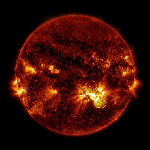 Giant Sunspot Erupts on October 24, 2014 | by NASA Goddard Photo and Video