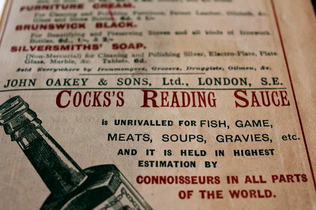 Cocks's Reading Sauce