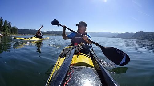 Morning paddle   by Kayaker Bill