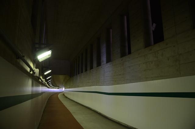 Tunnel under Osaki High School