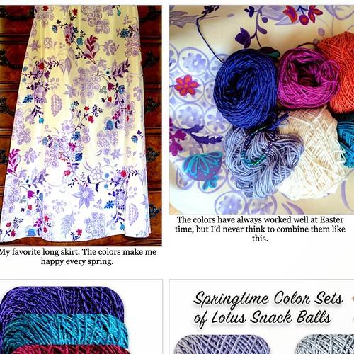 Lotus Colors in my Favorite Skirt!   by vashtirama