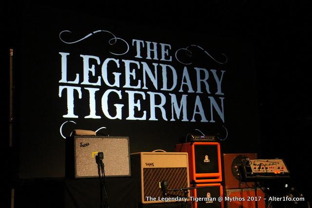 The Legendary Tigerman @ Mythos 2017