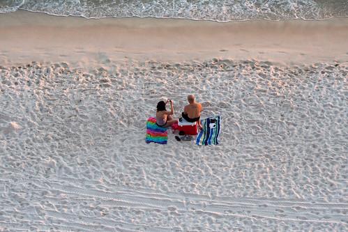 sunset beach sand couple florida olympus fl panamacitybeach omd m43 em10 microfourthirds