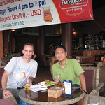 Sun, 12/16/2012 - 4:32pm - Having drinks in Phnom Penh