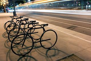 bikes vs bus   by stevebev