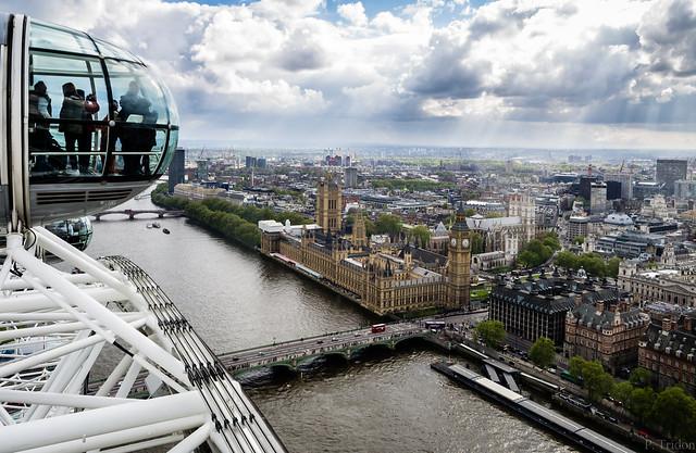 Big Ben depuis le London Eye