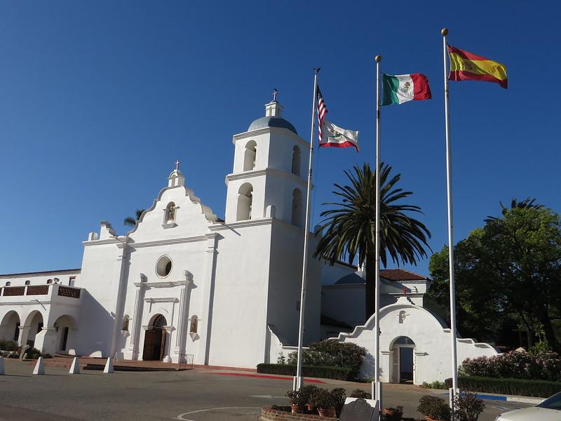 Mission San Luis Rey de Francia, Oceanside, California