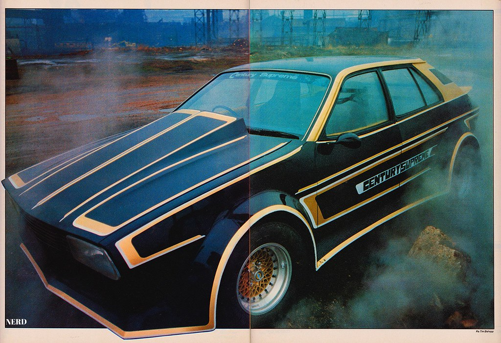 1976 2200 Austin Princess Scan From Custom Car Magazine Flickr
