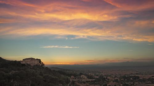 sunset landscape atardecer nikon sigma paisaje murcia nubes 1770 hoya d90 hsm filtropolarizado