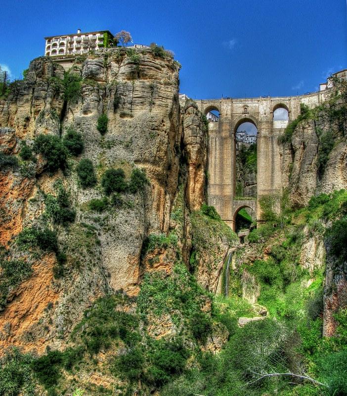 Ronda, Spain - 'El Tajo' canyon