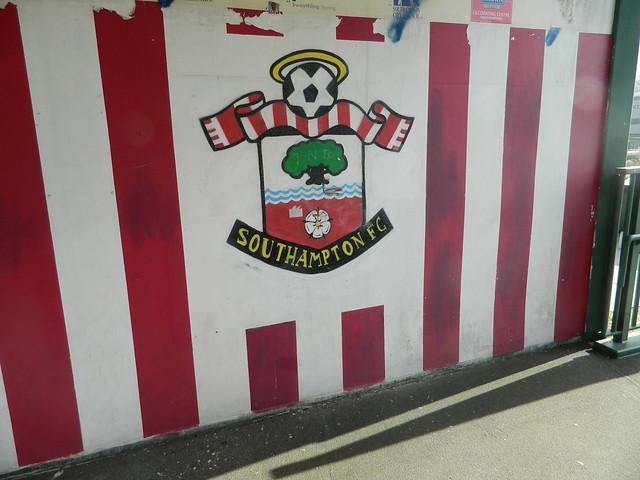 Saints V Stoke City