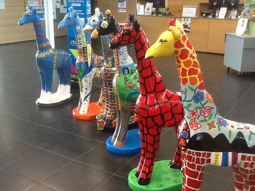 South Library giraffes
