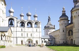 Kremlin in Rostov, Russia
