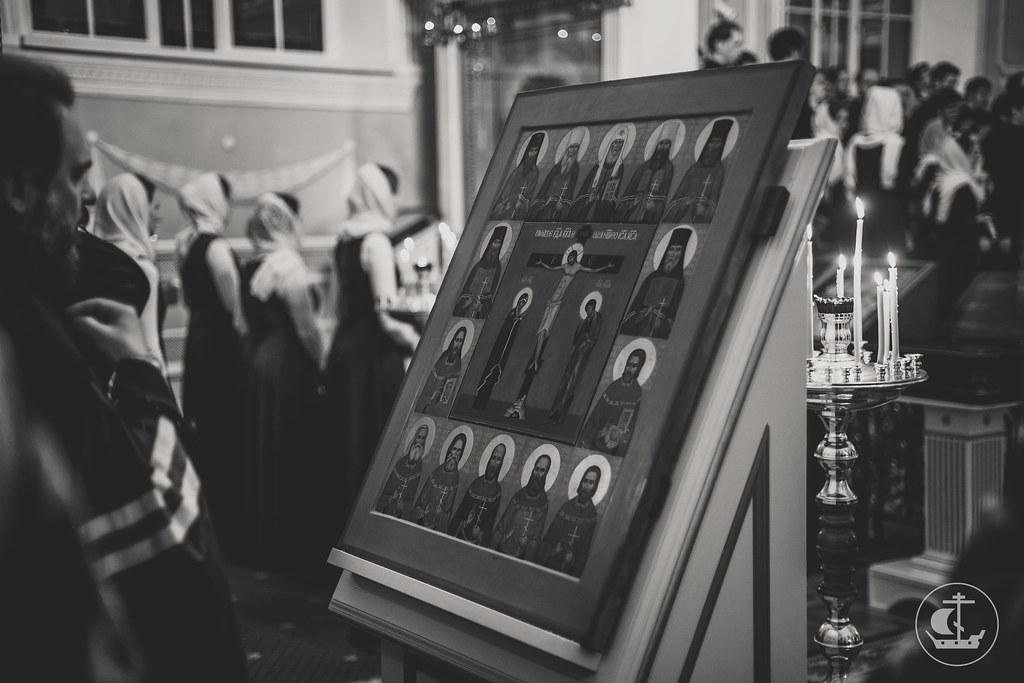 2 Апреля, Последний вечер памяти новомучеников и исповедников российских, выпускников СПбДА / 2 April, Last evening of the memory of the Holy New Martyrs and Confessors of Russia, graduates of the SPbTA.