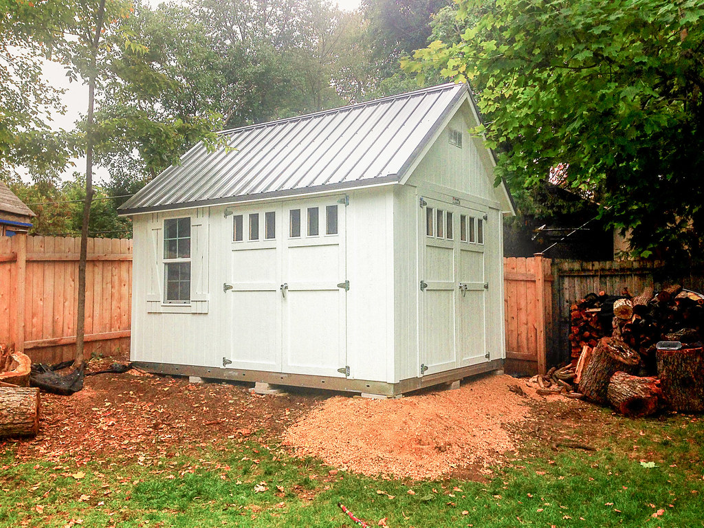 Cheely 10x12 Custom Shed P1 | TUFF SHED | Flickr