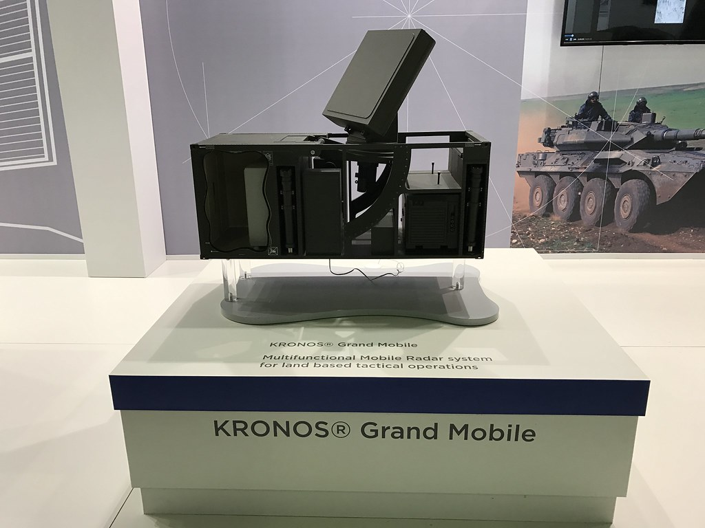 KRONOS Grand Mobile at LAAD 2017 | Multifunctional mobile ra