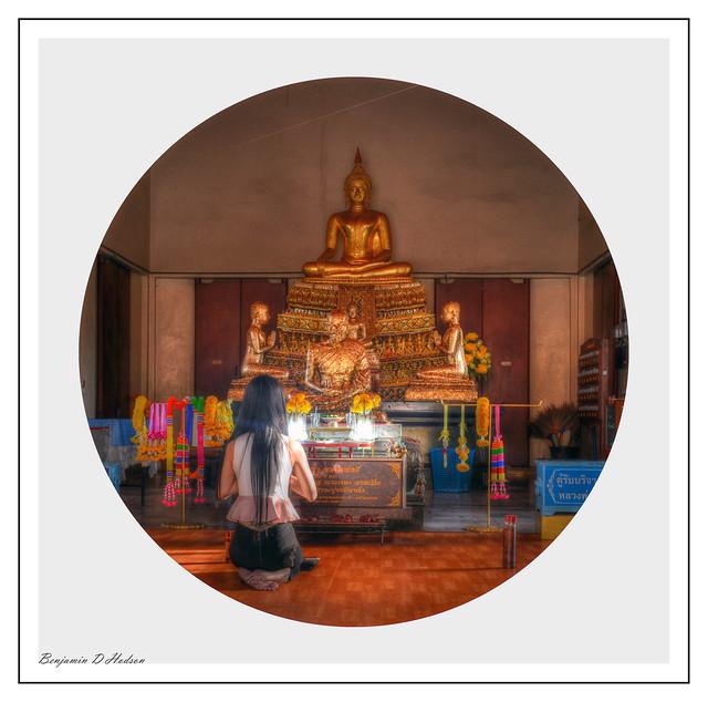 Girl at Shrine