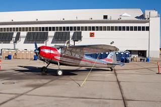Private Cessna 195A Businessliner N195WG