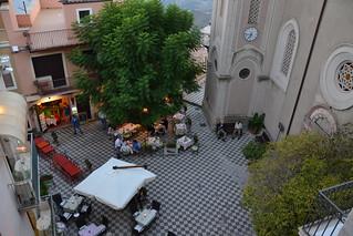 Castelmola, au-dessus de Taormine, Sicile | by Jeanne Menjoulet