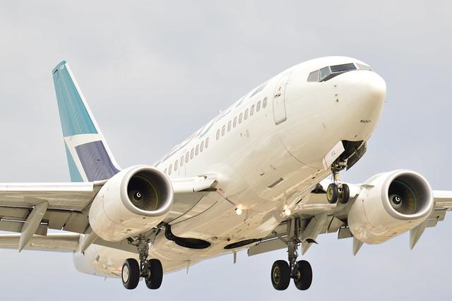 Westjet I Boeing 737-6CT I C-GWCY