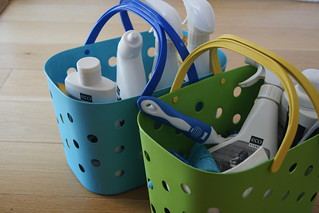 how to create a cleaning caddy DSC01301 | by planningqueen