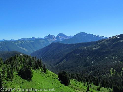 Views into Canada from Canyon Ridge, Washington