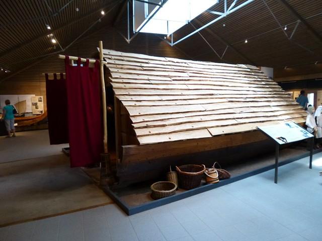 burial chamber display