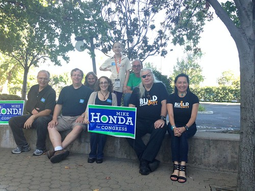 Canvassing for Mike Honda in San Jose with the Silicon Valley Kossacks | by Neeta Lind