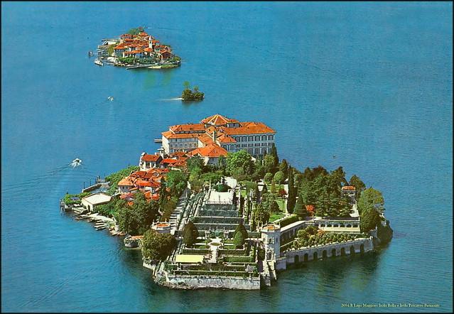 3094 R Lago Maggiore Isola Bella e Isola Pescatori Piemonte year 1979
