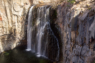 DSC01880 - Rainbow Waterfall during the California Drought - Devil's Postpile | by loupiote (Old Skool) pro