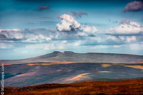 brecon breconnationalpark clouds cribyn mountains penyfan sky view nature