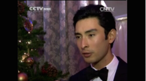 Alex in CCTV News (English) Oriental Daily Programme for Chinese New Year Broadcast 2014 | by noblehua1
