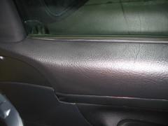 Peugeot tratamiento cuero de la puerta después