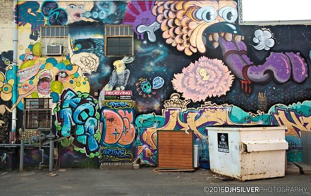 Cooke Street Murals