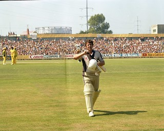 Lance Cairns - New Zealand v Australia, 17 February 1982, Dunedin