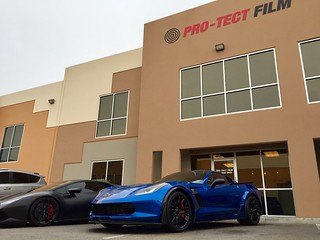 2017 Chevrolet Stingray ZO6   by Clear Film Protection