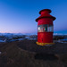 Little Red Lighthouse by Aron Cooperman