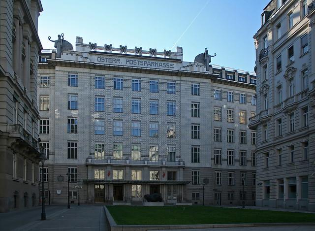 Die Österreichische Postsparkasse von Otto Wagner