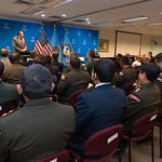 Fri, 04/07/2017 - 14:10 - On April 7, 2017, the William J. Perry Center for Hemispheric Defense Studies hosted a graduation for its Defense Policy and Complex Threats program in Lincoln Hall at Fort McNair in Washington, DC.