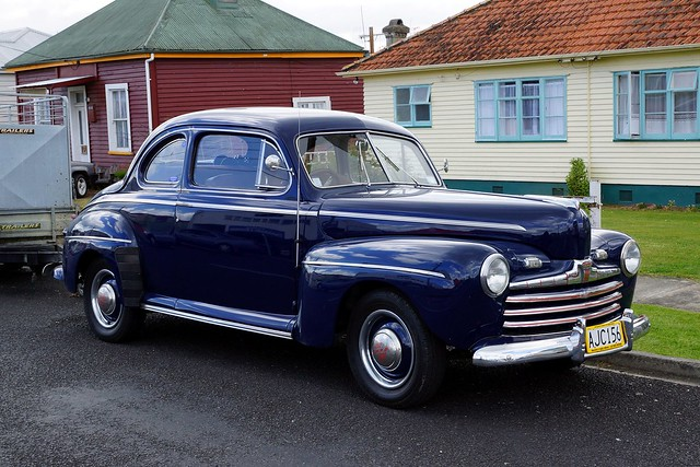 1946 Ford V8 Club Coupe