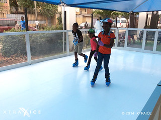 Synthetic ice rink in Nigeria