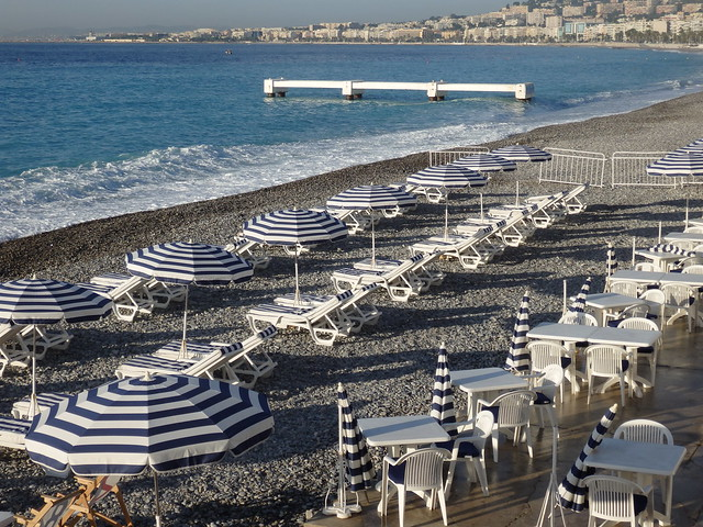 The Baie des Anges, from Ruhl Plage