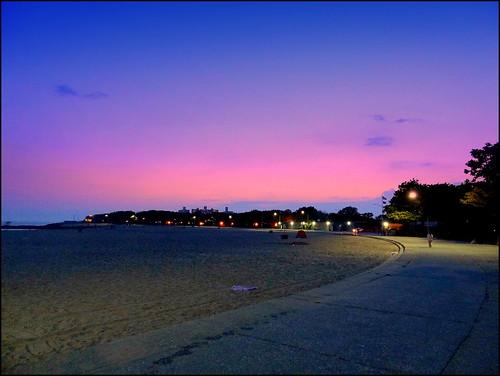 sunset newyork brooklyn image manhattanbeach dmitriyfomenko sum72014