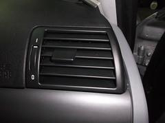 BMW SERIE 3 SALIDAS AIRE ACONDICIONADO DESPUES