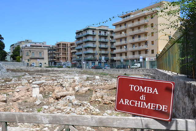 tombe d'archimède. Tomba di Archimede