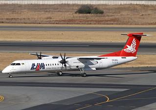 C9-AUL DHC-8-402 LAM Mozambique Airlines