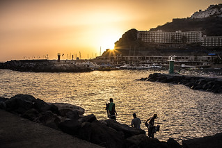 Sunset in Puerto Rico, Gran Canaria, Canary Island | by Giuseppe Milo (www.pixael.com)