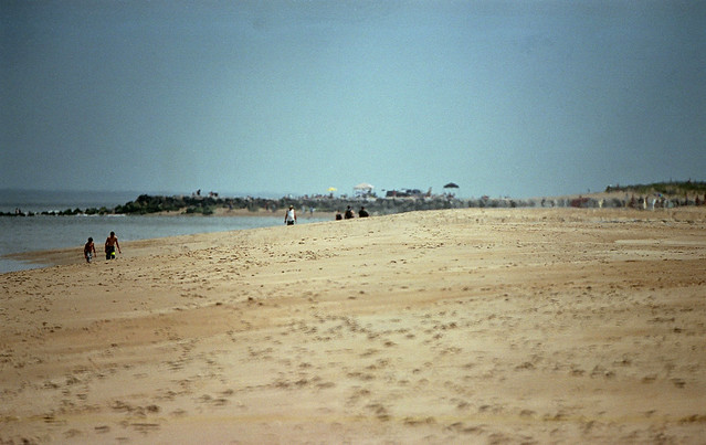 beach / nikon f5