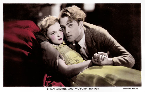 Brian Aherne and Victoria Hopper in The Constant Nymph (1933)